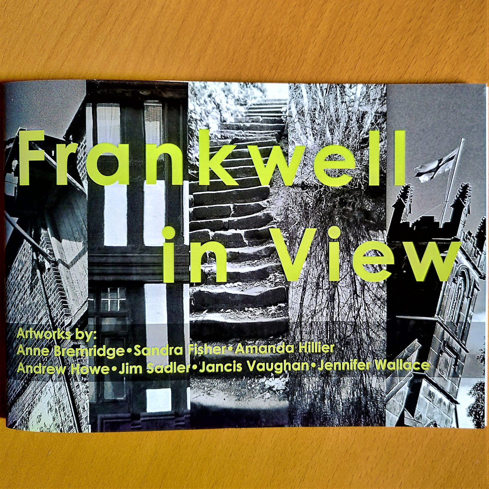 Front cover of the artist book Frankwell in View