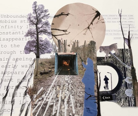 Collage created by Sally Stenton from responses to Walk No. 12.